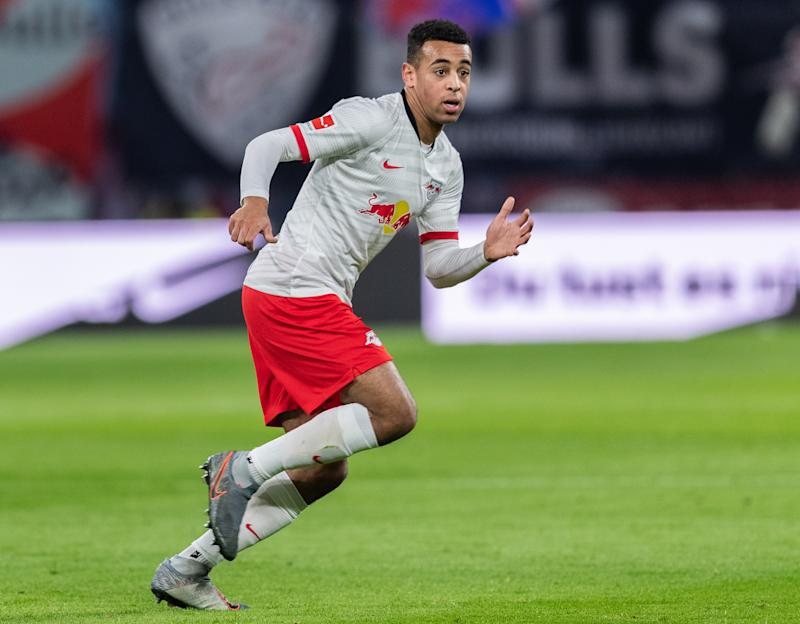 Tyler Adams will get a chance to line up in his preferred central midfield role with the U.S. men's national team, coach Gregg Berhalter said. (Boris Streubel/Getty)