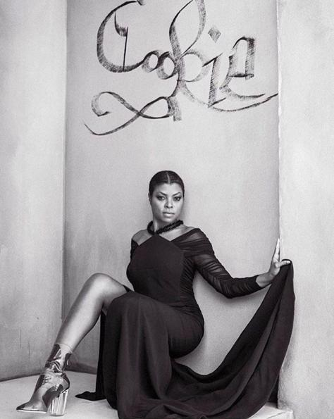 The Empire Star - Taraji P. Henson Ditches Her Wigs for CR