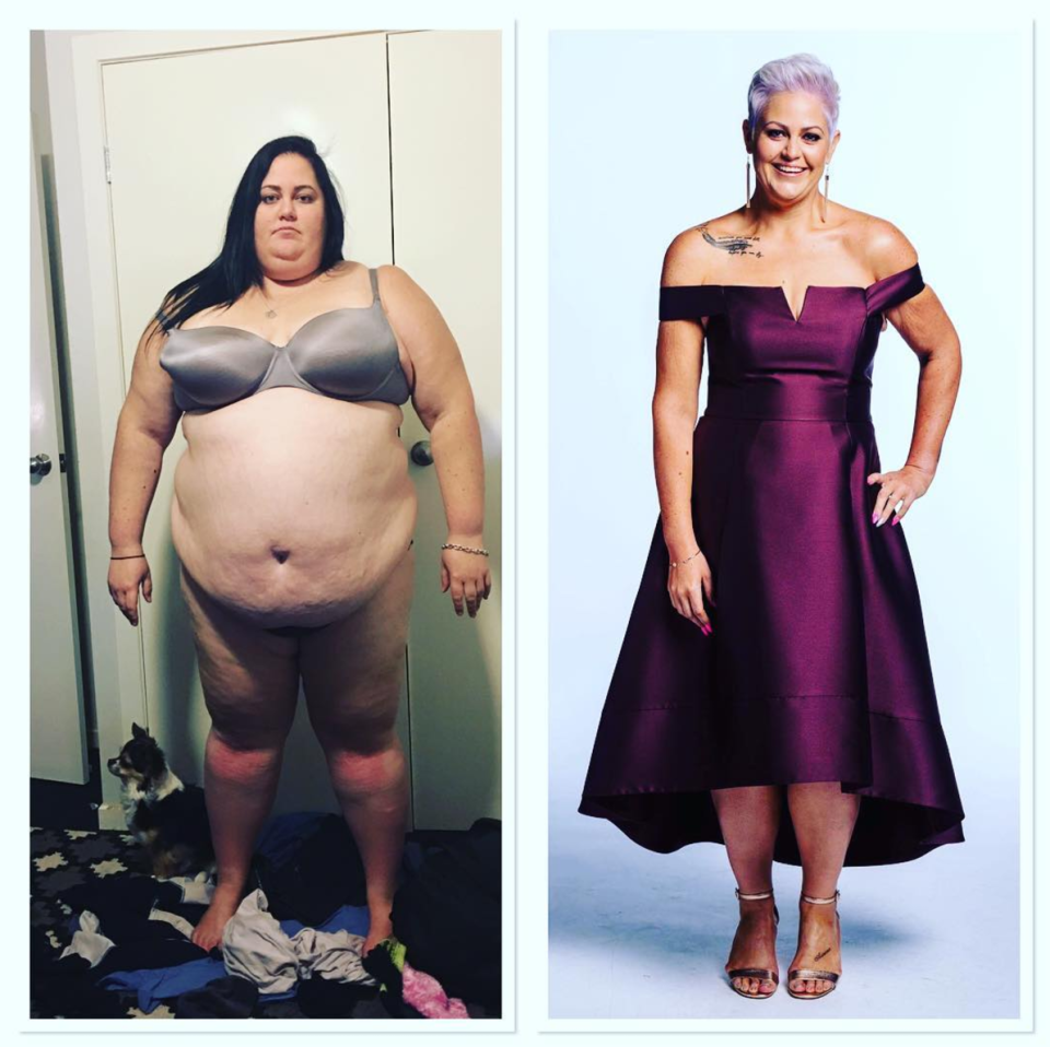 29-year-old Elena Goodall transformed her life after receiving a warning from her doctor [Photo: Instagram]