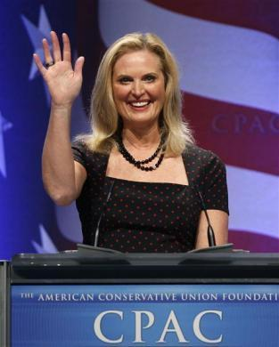 Ann Romney speaks at the 38th annual Conservative Political Action Conference meeting at the Marriott Wardman Park Hotel in Washington, February 11, 2011.