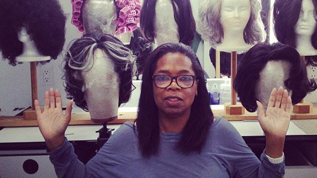 Oprah Goes All Natural on Twitter, 'O' Cover (ABC News)