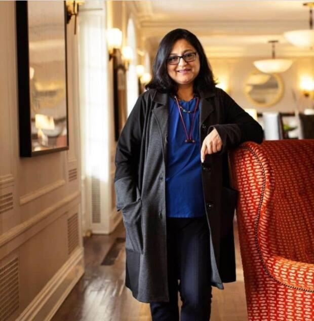 Pooja Rajmohan came to New Brunswick last March to work at the Algonquin Resort in Saint Andrews. Six members of her family were recently hospitalized in India with COVID-19.
