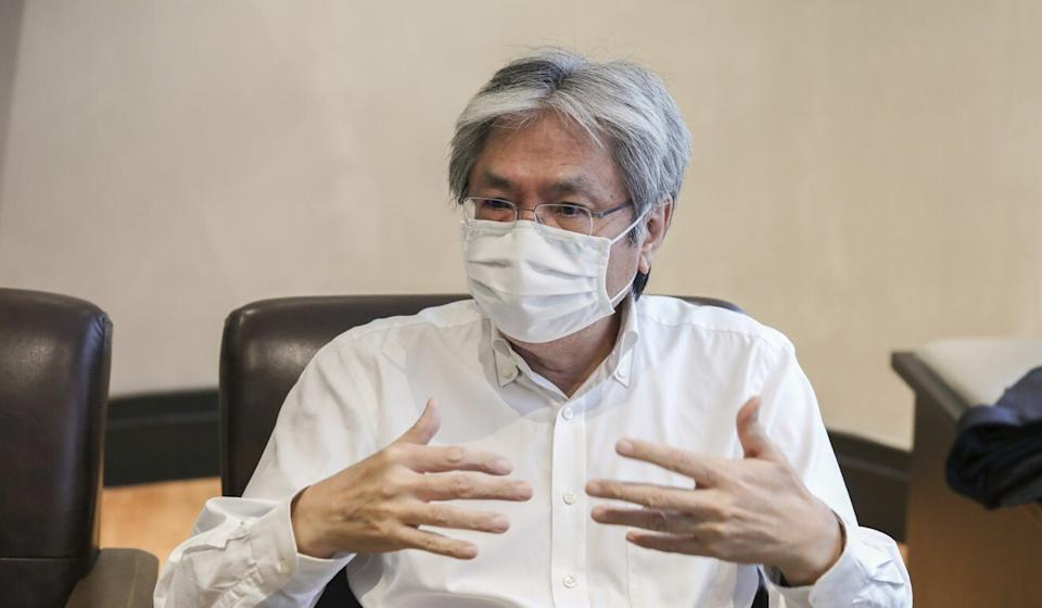 Former Hong Kong finance chief John Tsang spoke with the Post about the future of the education sector. Photo: Jonathan Wong