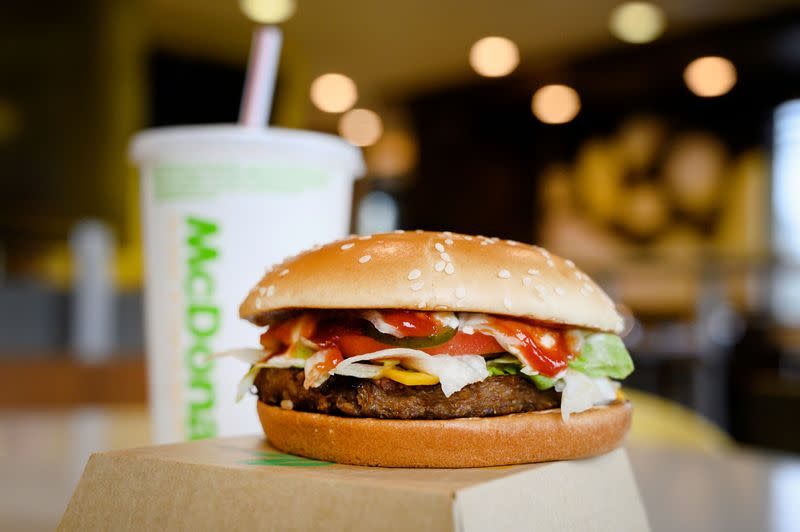 Grocers roll out plant-based burgers - at prices below Beyond Meat