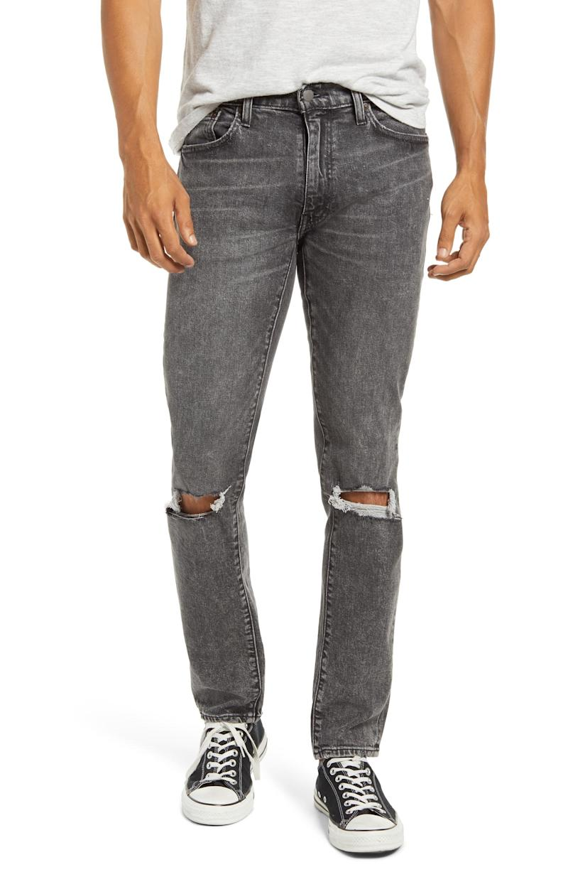Levi's Men's 511 Ripped Slim Fit Jeans. Image via Nordstrom.