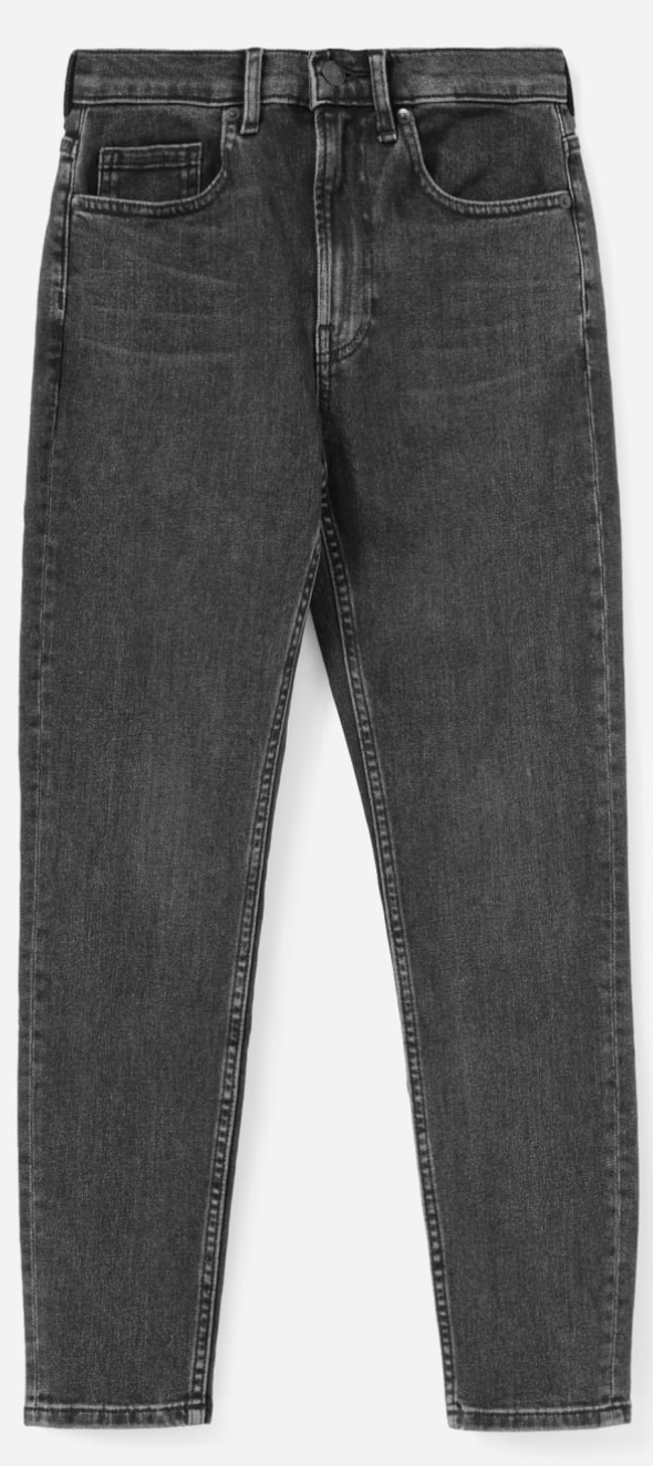Everlane Women's The High-Rise Skinny Jean in Washed Black