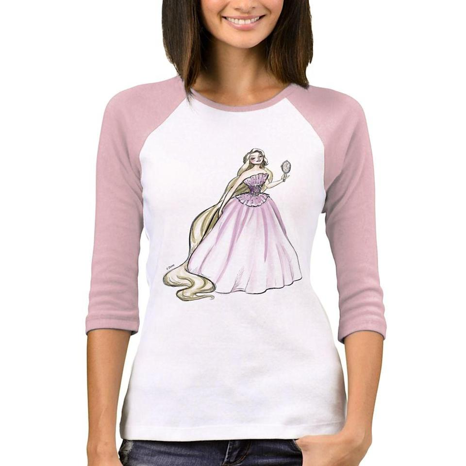 <p>The <span>Rapunzel Ralgan T-Shirt</span> ($23) is classic enough to go with anything. </p>