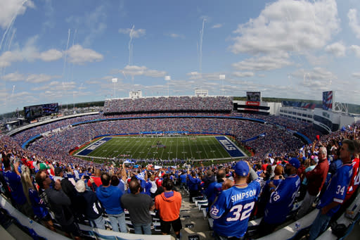 New Era asks to end stadium naming rights deal with Buffalo Bills