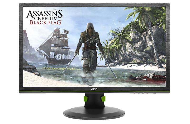 The AOC G2460PG is a G-Sync monitor that costs US$500. (Image Source: AOC)