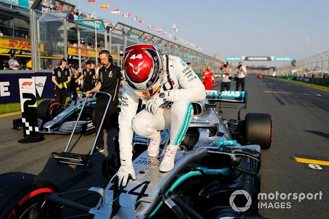 "Lewis Hamilton, Mercedes AMG F1 <span class=""copyright"">Steven Tee / LAT Images</span>"
