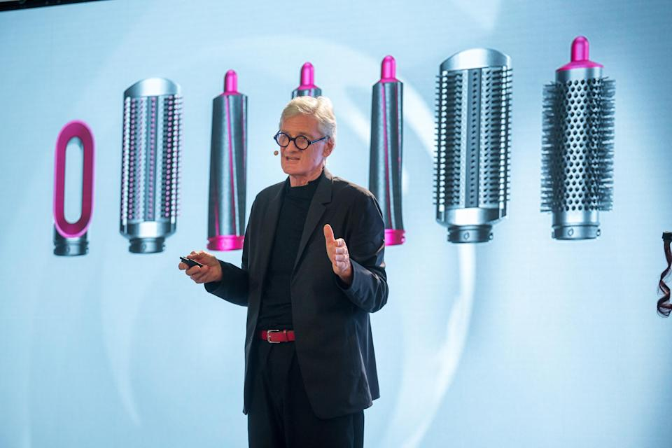 James Dyson, founder and chairman of Dyson Ltd at a New York event. Photographer: Michael Nagle/Bloomberg via Getty Images