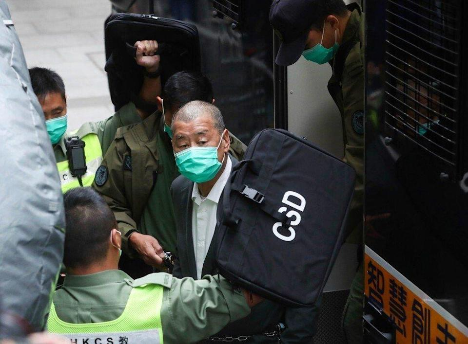 Media mogul Jimmy Lai has been charged under the national security law. Photo: Sam Tsang