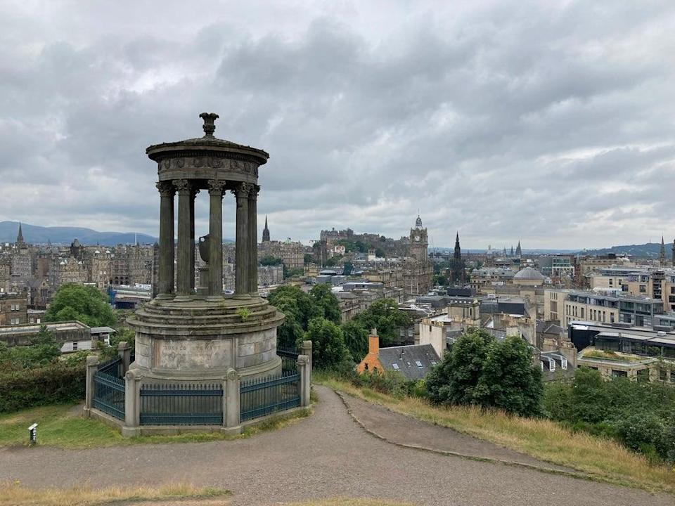 Undated PA Photo of the view from Calton Hill, Edinburgh. See PA Feature TRAVEL Edinburgh. Picture credit should read: Ella Walker/PA. WARNING: This picture must only be used to accompany PA Feature TRAVEL Edinburgh.