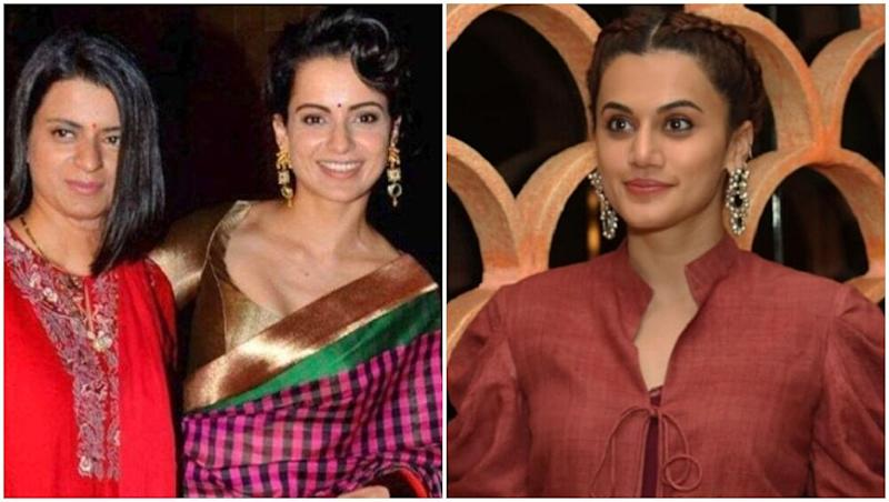 Kangana Ranaut's Sister Rangoli Chandel Hits Back at Taapsee Pannu AGAIN! (Read Tweets)