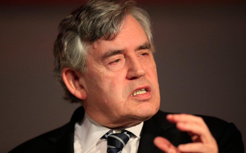 Gordon Brown warned Nicola Sturgeon is pursuing an extreme form of independence - Credit: PA