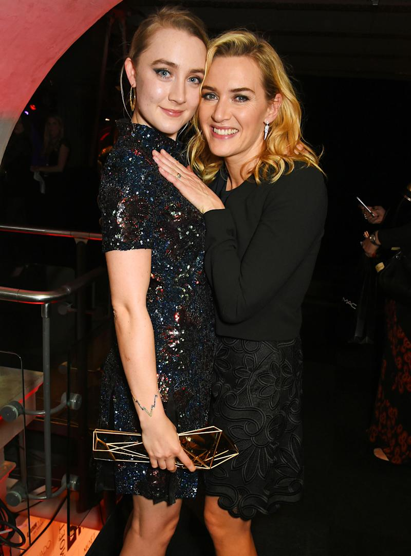 Kate Winslet and Saoirse Ronan to Play Lovers in Movie ...