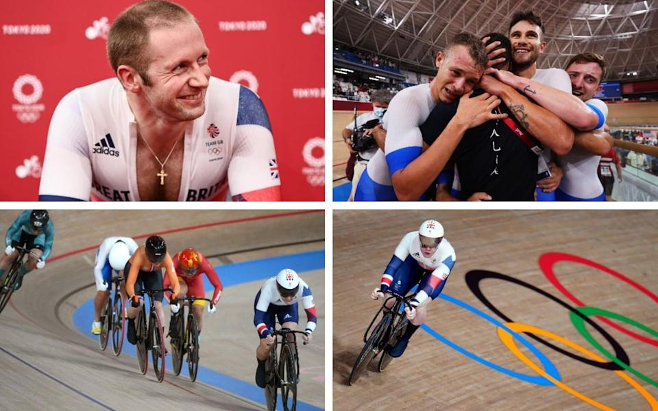 Team GB's Jason Kenny and Jack Carlin through to last 16 of men's sprint after Italy beat Danes to land team pursuit gold - SWPIX.COM / GETTY IMAGES/ PA / EPA