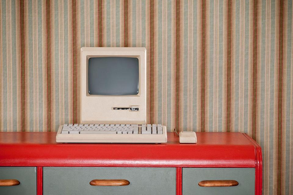 """<p>Once upon a time, the family computer was a clunky machine that had a home on a desk in a common room of the house. Now a personalized laptop is a staple on every student's <a href=""""https://www.countryliving.com/shopping/antiques/a39432/vintage-school-supplies/"""" rel=""""nofollow noopener"""" target=""""_blank"""" data-ylk=""""slk:school supply"""" class=""""link rapid-noclick-resp"""">school supply</a> list.</p>"""
