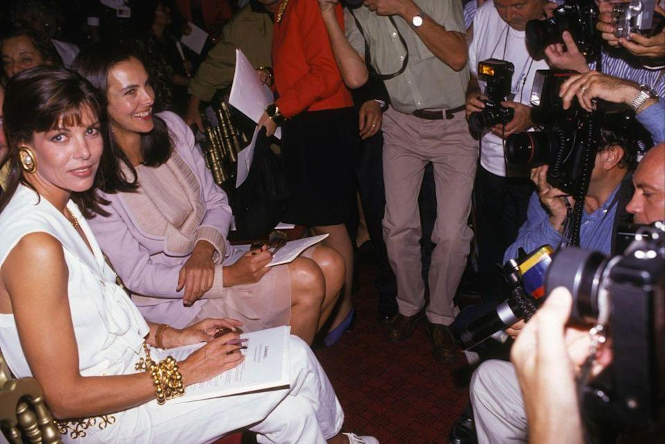 <p>And again at the Chanel show in the summer of 1990.</p>