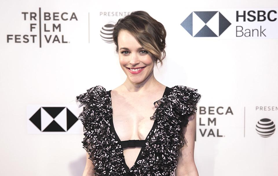 NEW YORK, USA - APRIL 24: Rachel McAdams attends a screening of 'Disobedience' during the Tribeca Film Festival at the BMCC Tribeca PAC in New York, United States on April 24, 2018. (Photo by Atilgan Ozdil/Anadolu Agency/Getty Images)