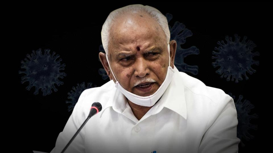 BS Yediyurappa tests coronavirus positive for the second time