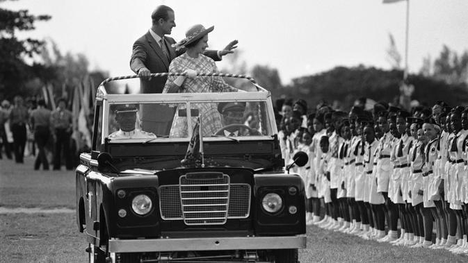 Pangeran Philip dan Ratu Elizabeth II  (AP Photo/File)