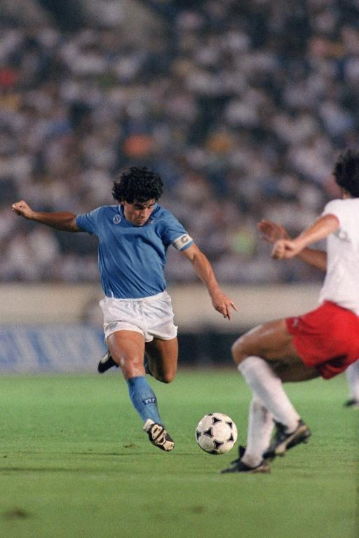 Maradona led Napoli to their greatest achievements in Italy and in Europe