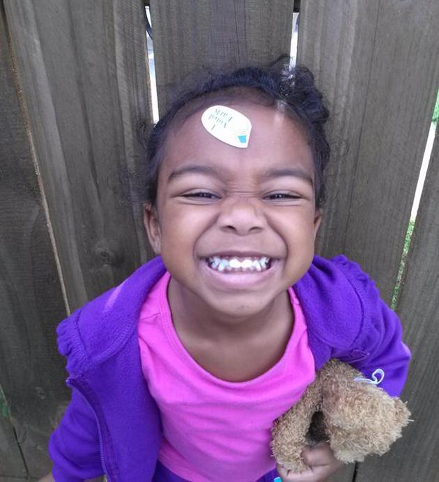 Baby so proud she voted! - ‏@d0minican10der, via Twitter