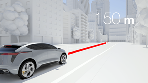 Magna's ICON Digital Radar detects pedestrians up to 150 meters away