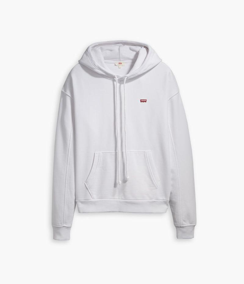 Levi's Unbasic Hoodie in White (Photo: Levi's)