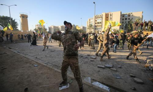 Iraq riots expose an America weaker and with fewer options