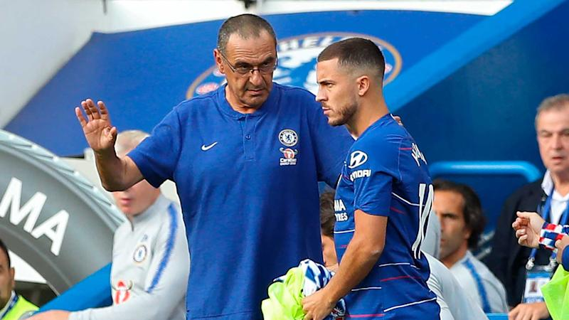 Hazard caused defensive issues for Chelsea - Sarri