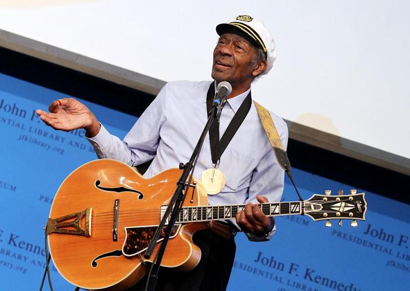 Blues singer and rock'n'roll pioneer Chuck Berry has died at age 90.