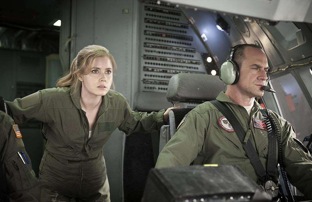 (L-r) AMY ADAMS as Lois Lane and CHRISTOPHER MELONI as Colonel Nathan Hardy in Warner Bros. Pictures? and Legendary Pictures? action adventure ?MAN OF STEEL,? a Warner Bros. Pictures release.