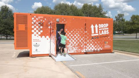 Learning Undefeated Debuts New Drop Anywhere Labs, an Innovative STEM Education Concept Using Modified Shipping Containers