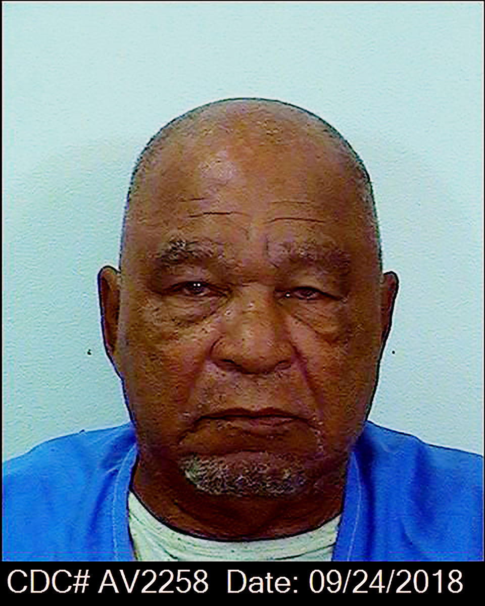 Booking photo provided by the California Department of Corrections shows Samuel Little. Source: AAP