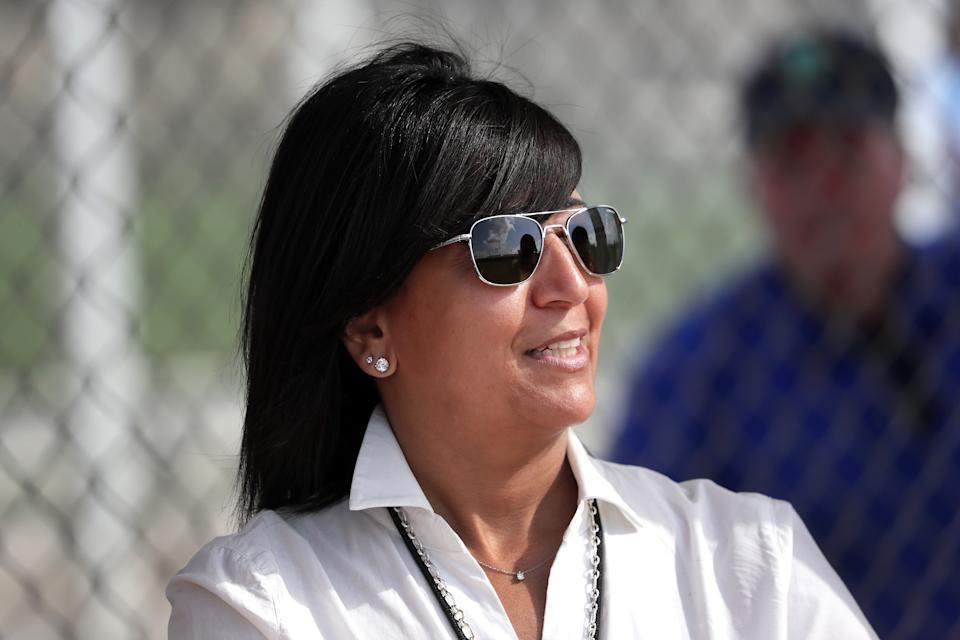 Raquel Ferreira's interim position is one that no woman has ever held before. (Photo by Barry Chin/The Boston Globe via Getty Images)