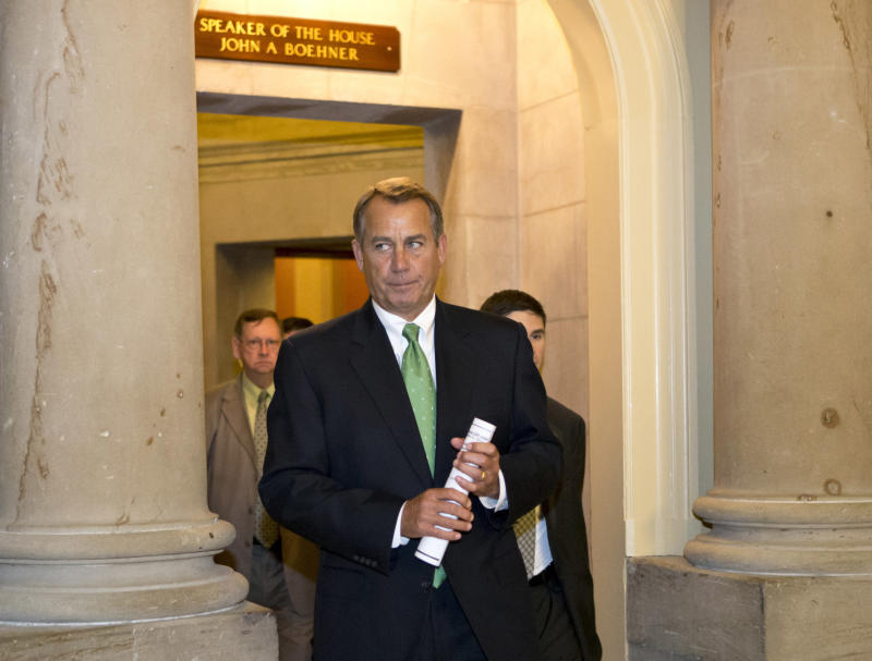 'Cliff' movement? Obama, Boehner trade proposals