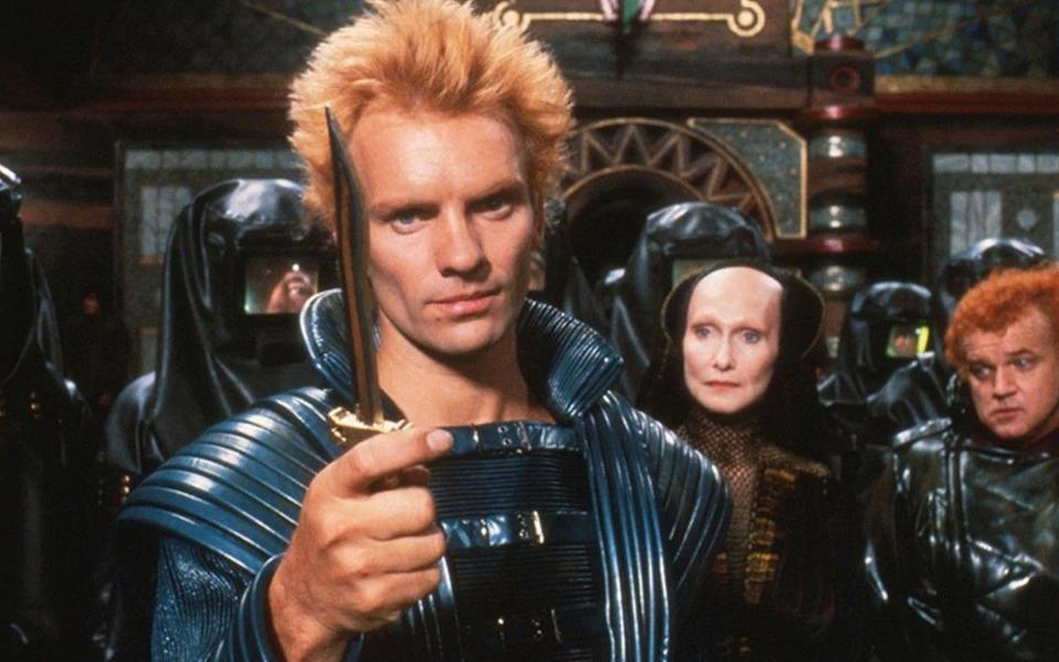 Sting starred in David Lynch's adaptation of 'Dune'. (Credit: Universal)