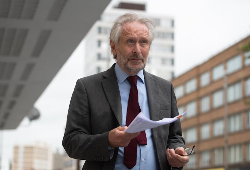 The Labour mayor of Leicester, Sir Peter Soulsby. (PA)