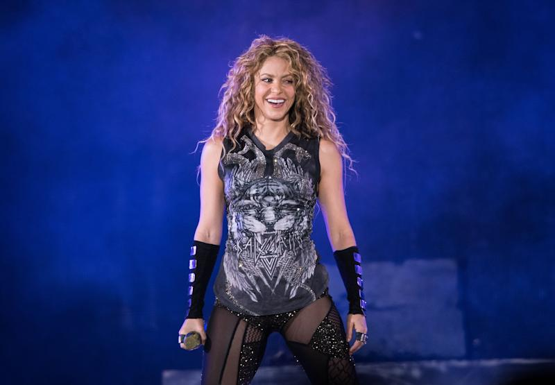 Shakira performing in New York last year (Photo: Noam Galai via Getty Images)