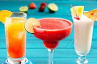 """<p>Rum seems like a liquor <em>made </em>for summer: It goes perfectly in all your favorite frozen beverages, from piña coladas to strawberry daiquiris. We've even hacked margaritas to include rum! With these recipes, you'll be drinking it all season long...and maybe into fall. For more boozy summer ideas, check out our favorite <a href=""""https://www.delish.com/entertaining/g2163/summer-cocktails/"""" rel=""""nofollow noopener"""" target=""""_blank"""" data-ylk=""""slk:summer cocktails"""" class=""""link rapid-noclick-resp"""">summer cocktails</a>, too!</p>"""