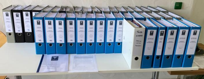 Tesla's planned factory application files are are displayed in Gruenheide