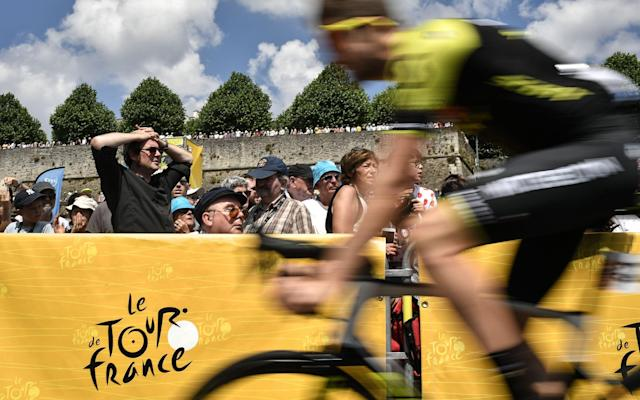 The road to Paris has turned yellow for July as the Tour dominates the sporting landscape - Getty Images