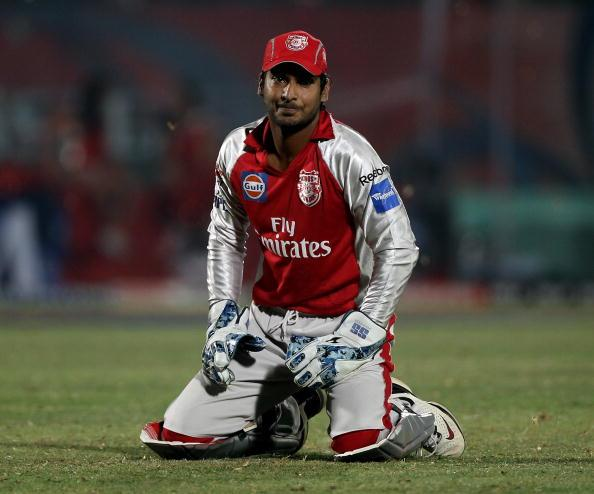 Kings XI Punjab v Deccan Chargers - IPL : News Photo