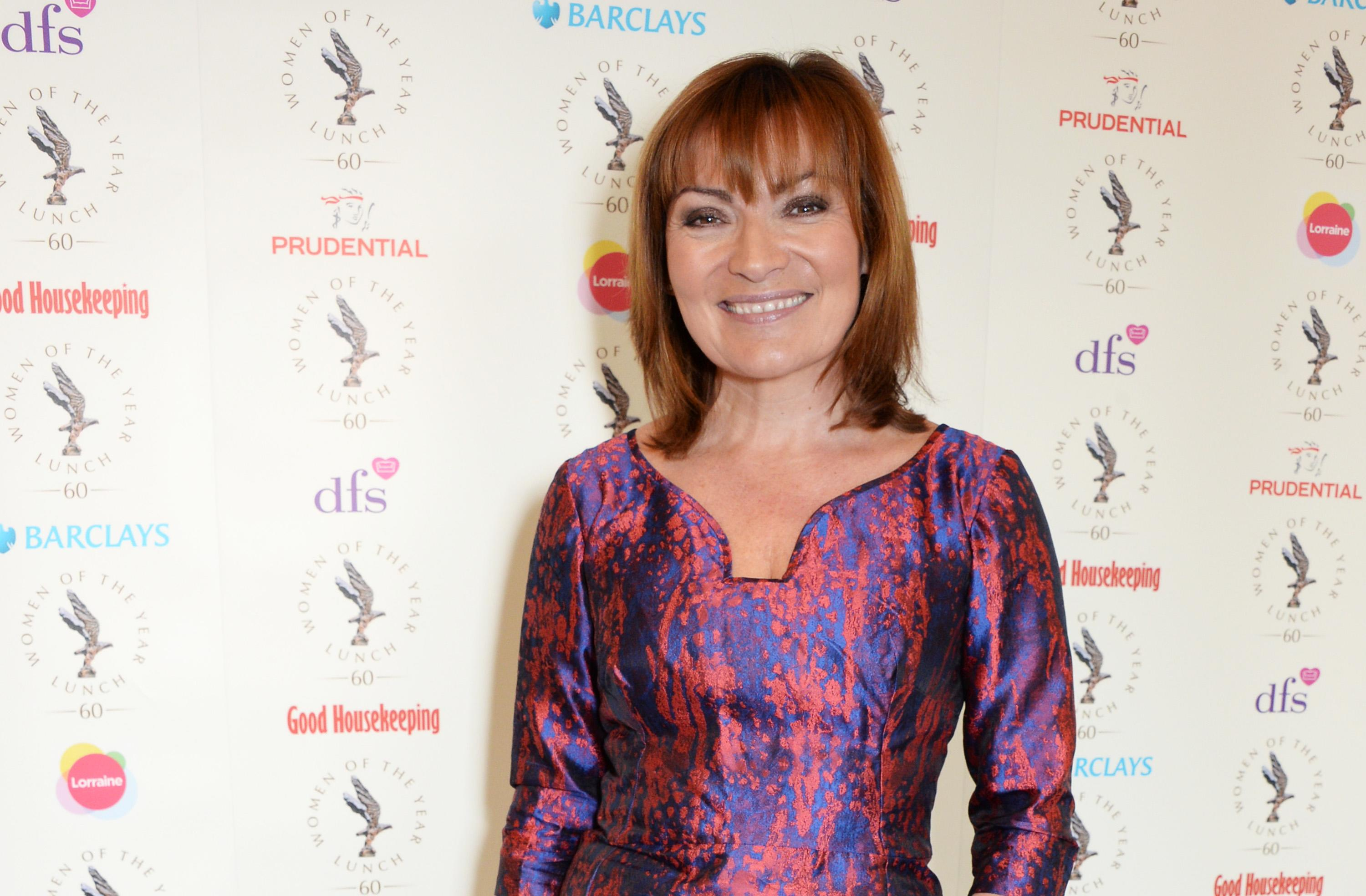 LONDON, ENGLAND - OCTOBER 13: Lorraine Kelly attends The 59th Women of the Year Lunch at the InterContinental Park Lane Hotel on October 13, 2014 in London, England. (Photo by David M. Benett/Getty Images)