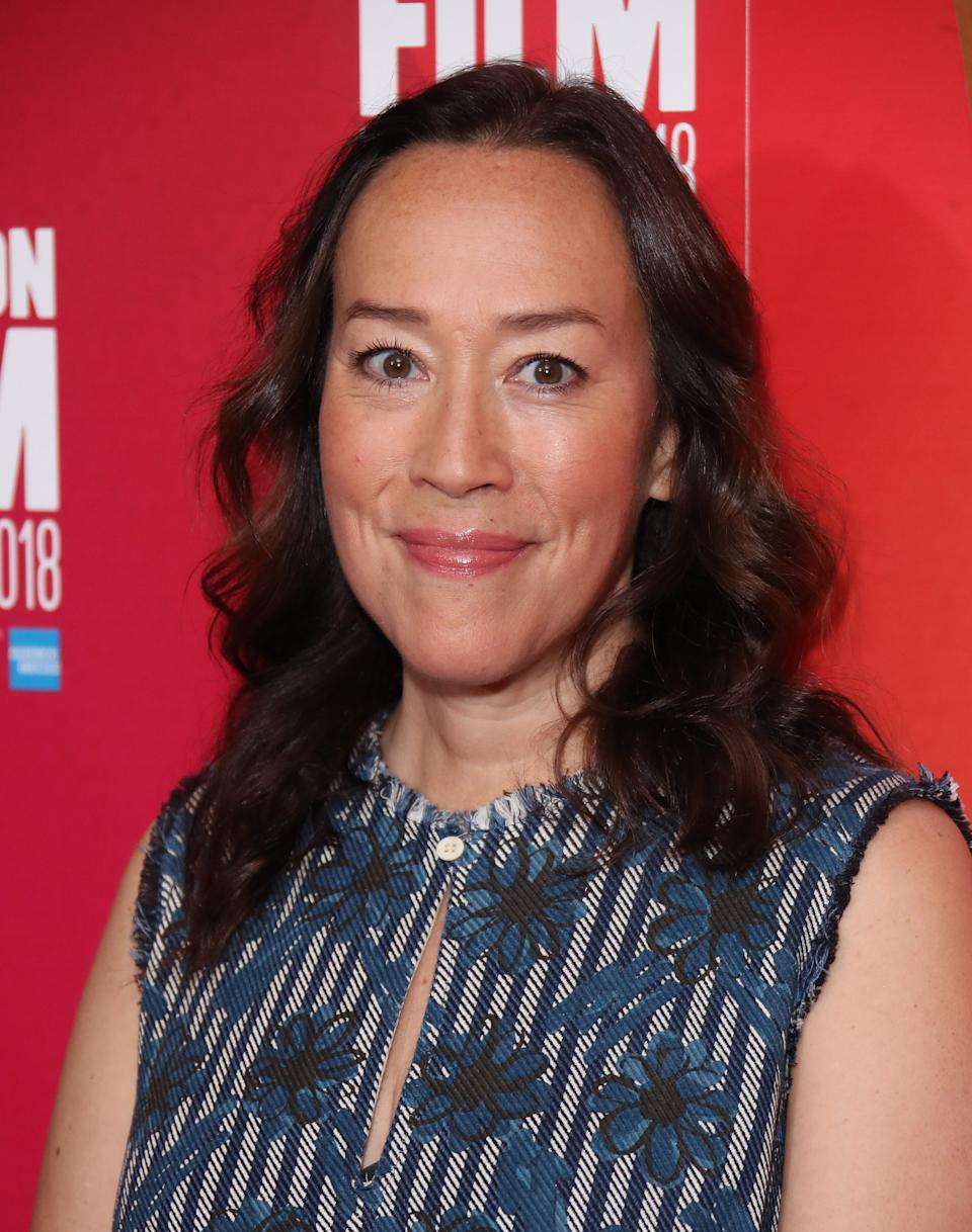 """LONDON, ENGLAND - OCTOBER 14:  Karyn Kusama attends the European Premiere """"Destroyer"""" at the 62nd BFI London Film Festival on October 14, 2018 in London, England.  (Photo by Mike Marsland/Mike Marsland/WireImage)"""