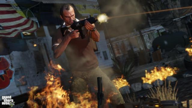 The 'Grand Theft Auto' franchise is rated M for mature audiences.