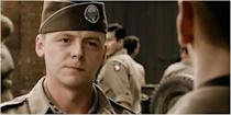 <p>Band of Brothers wasn't exactly Pegg's big break given that he and Jessica Hynes had co-created Channel 4's iconic comedy series Spaced in 1998, but playing First Sergeant William Evans, the lacky to David Schwimmer's jumped-up Captain Herbert Sobel, certainly got him some transatlantic attention. He has since appeared in The Adventures of Tintin and Ready Player One for Spielberg, as well as the Star Trek and Mission: Impossible franchises, with new instalments of both on the horizon.</p>