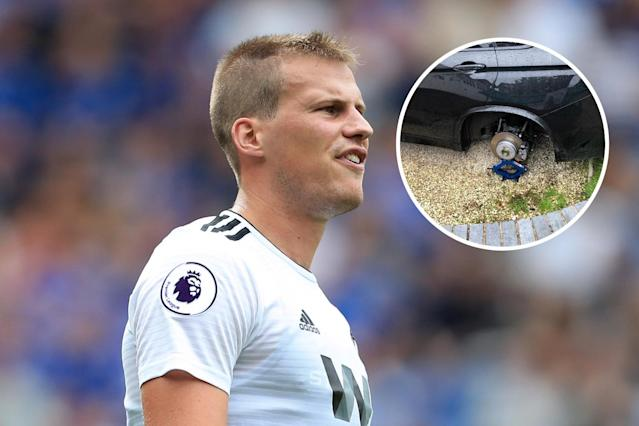 Ryan Bennett found the £60k wheels on his car stolen on Sunday morning